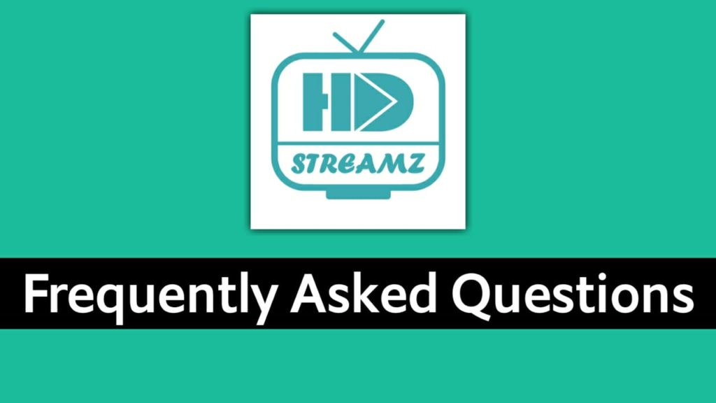 Frequently Asked Questions: HD Streamz